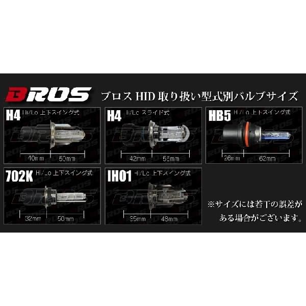 HIDフルキット Hi/Low切替 ブロス製 BROS製 35W 型式選択 ケルビン数選択 @a053|ksplanning|04