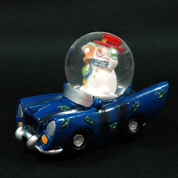 クリスマス 雑貨 飾り オブジェ スノーマンカーA kss-s