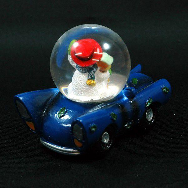 クリスマス 雑貨 飾り オブジェ スノーマンカーA kss-s 02