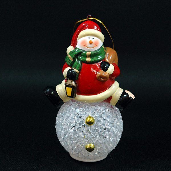 クリスマス 雑貨 飾り オブジェ スノーマン オブジェ|kss-s