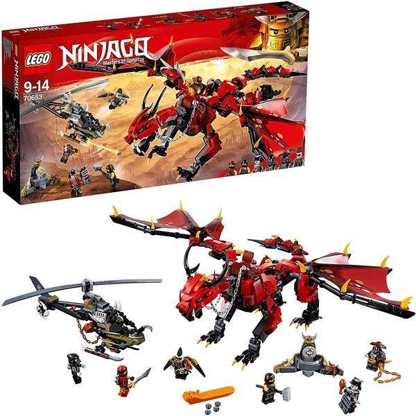 レゴ(LEGO)ニンジャゴー伝説のエレメント・ドラゴン:メリュジーナ70653