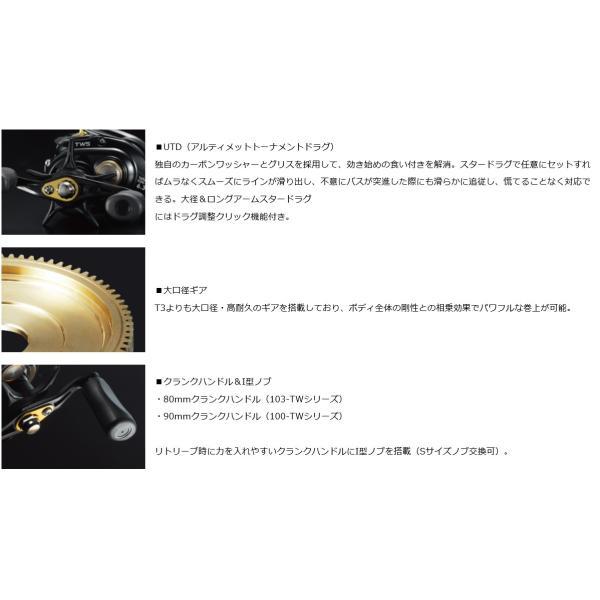 TATULA(タトゥーラ) 100HL-TW / Daiwa (ダイワ)|kt-gigaweb|04