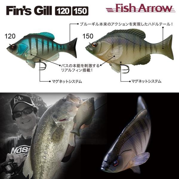 4月限定SALE / Fin's Gill 150 (フィンズギル150) / Fish Arrow (フィッシュアロー)