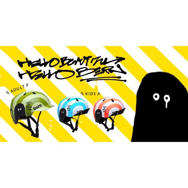 セール  bern×KAMIYAMA NINOALLSEASON(ニーノ)コラボモデル/bern(バーンキッズヘルメット)