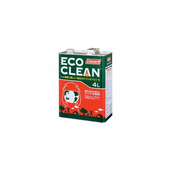 コールマン ホワイトガソリン エコクリーン4L 170-6760
