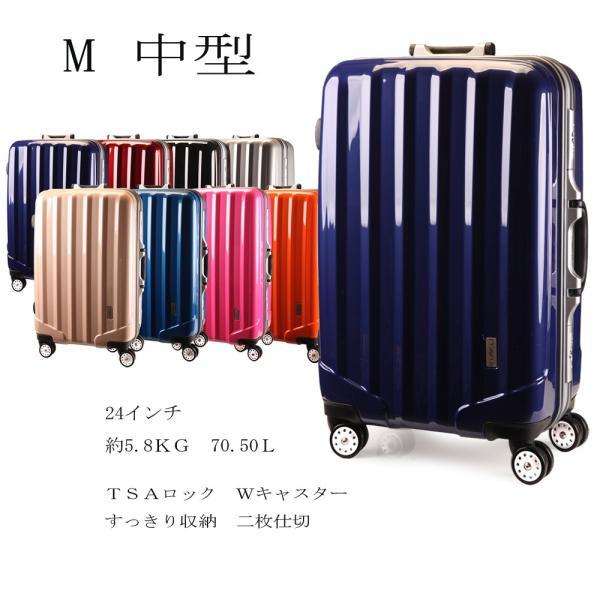 スーツケース 中型  TSAロック アルミ合金フレーム スーツケース 中型 軽量 スーツケース 人気 ランキング キャリーケース アウトドア SUITCASE