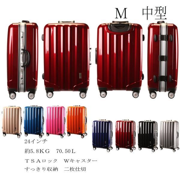 【数量限定 半額セール】スーツケース 中型  TSAロック アルミ合金フレーム  中型 軽量  人気 ランキング キャリーケース アウトドア SUITCASE