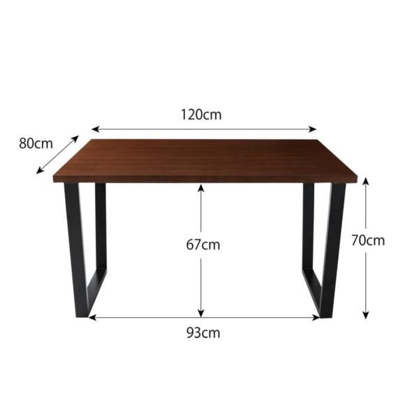 ダイニングテーブルセット ダイニングテーブル ダイニング W120 4点セット チェア ベンチ 4人用 おしゃれ|kubric|08