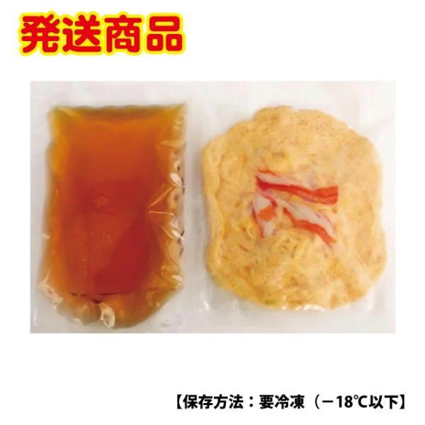 天津飯の具 地元の新鮮卵&ズワイガニが絡む|kuihuku-hourai|02