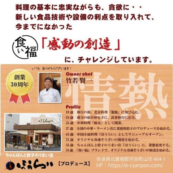 4種の創作餃子 食べ比べセット|kuihuku-hourai|06