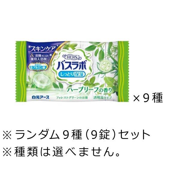 白元アース入浴剤バスラボ8種(8錠)セット〜・消化・消化・501円