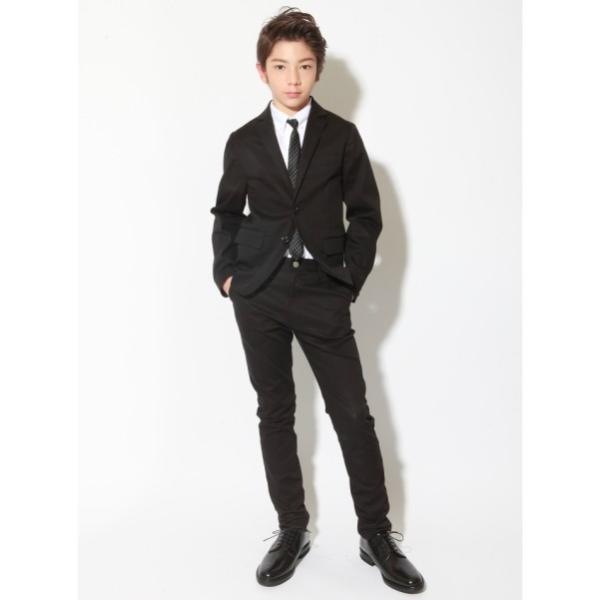 25651746910d7 ... 子供服 男の子 スーツ ジュニア フォーマル 卒業式 スーツ ニュータイプレギュラーフィット ジャケット 150cm 160cm ...