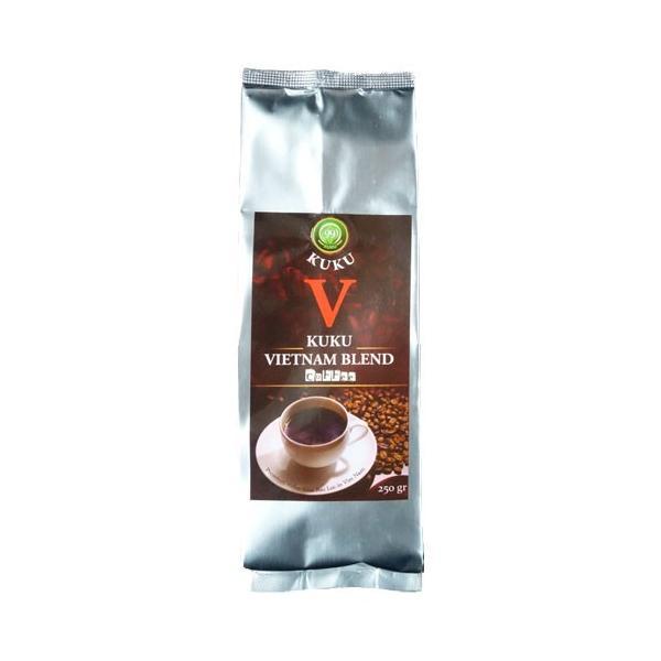 ベトナムコーヒー コーヒー コーヒー豆  KUKU ベトナム お土産 人気 ベトナムブレンド 粉・250g|kuku-vietnamcoffee|02