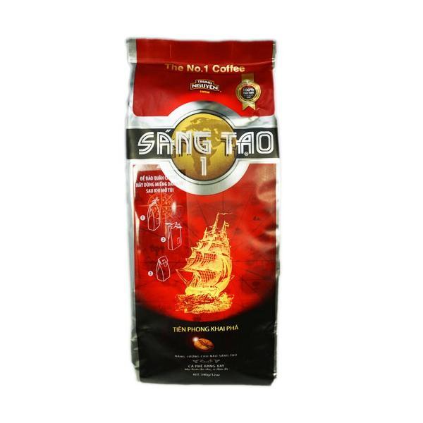 ベトナムコーヒー コーヒー コーヒー豆 チュングエン Sang Tao1クリ・ロブスタ 粉・340g|kuku-vietnamcoffee|02