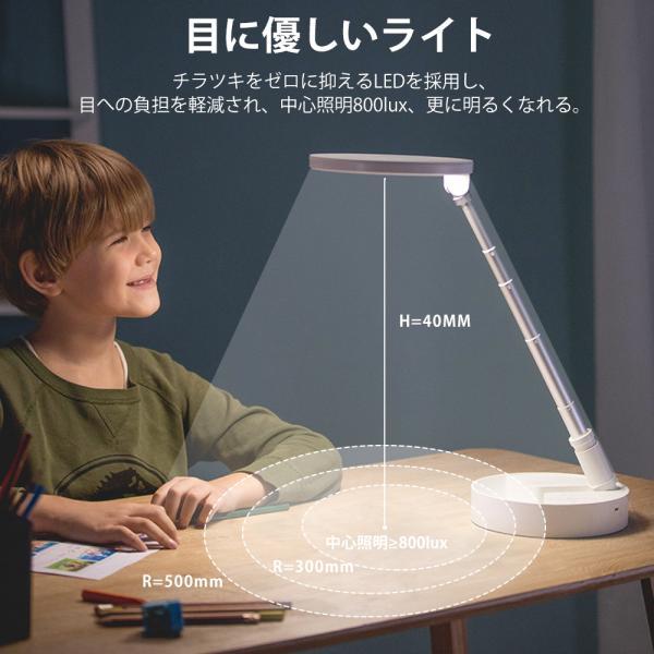 デスクライト 卓上スタンド 子供 照明目に優しい
