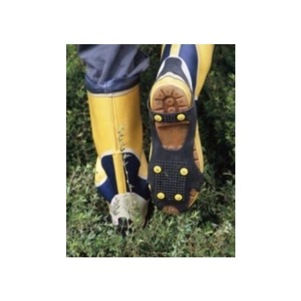 ワンタッチ・滑り止(L)NO.010923 適合靴26.0〜28.0cm 長靴 革靴 スニーカーまで装着簡単 雪道 圧雪 凍結道路 山菜採 釣り レジャー用に
