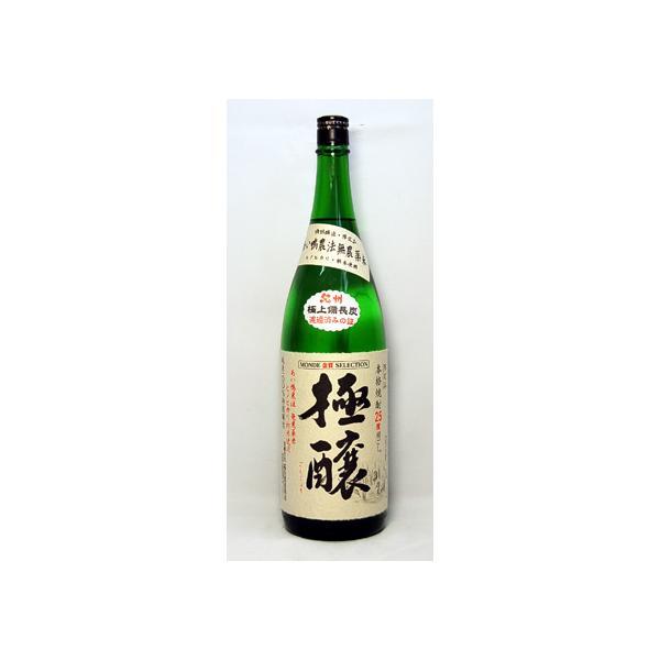 極醸 合鴨農法米 米焼酎 25度 1800ml