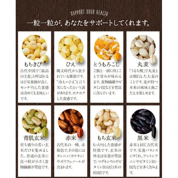 くまモン袋の 国産 二十一雑穀米 たっぷり1kg(500g×2袋)入  送料無料 大麦 もち麦入り 熊本県産の発芽玄米使用 3-7営業日以内に出荷予定(土日祝日除く) kumamotofood 18