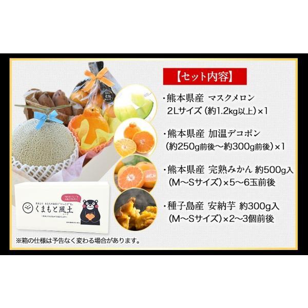 看板フルーツを厳選 九州フルーツ盛り合わせ  マスクメロン/デコポン/みかん/安納芋  送料無料 7-14営業日以内に出荷(土日祝除)|kumamotofood|15