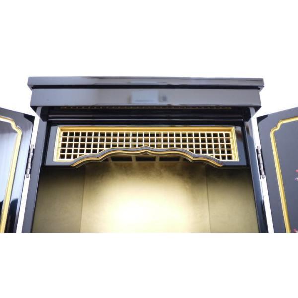 仏壇 上置き仏壇 モダン仏壇 小型仏壇 ミニ仏壇 金仏壇 しだれ桜16号|kumano-butu|05