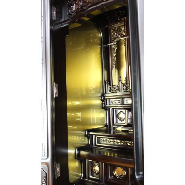 仏壇 唐木仏壇  床置仏壇 清水 15号 一部地域を除き送料無料|kumano-butu|03