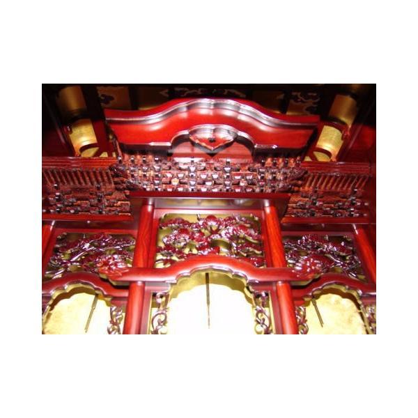 仏壇 唐木仏壇 新宮43号18巾 軸二方練|kumano-butu|05