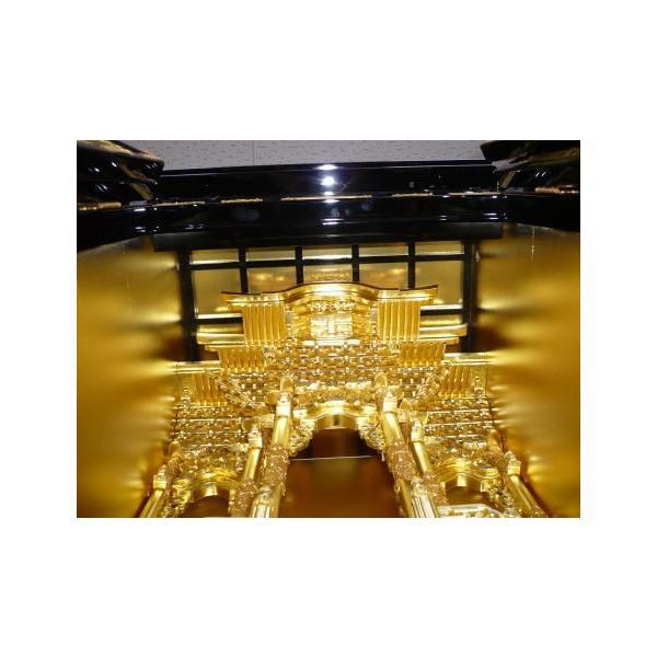 金仏壇 仏壇 浄土真宗西・東 紀の国15号 レビューで真宗専用仏具半額|kumano-butu|03