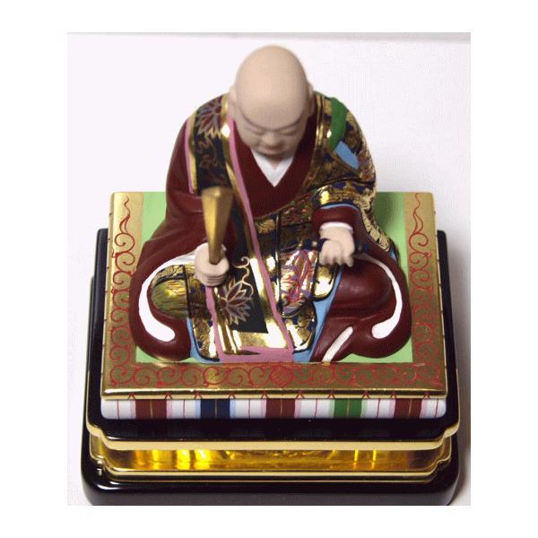 仏像 日蓮上人 彩色 3.0寸|kumano-butu|04
