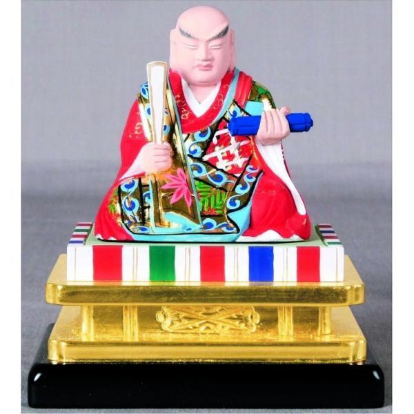 仏具 仏像 日蓮宗 日蓮上人2.0寸|kumano-butu