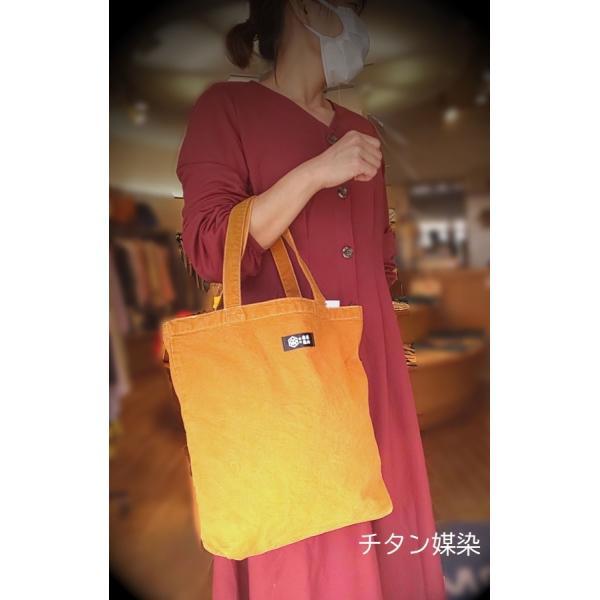 紀州 熊野番茶染め キャンバストート|kumano-t|02