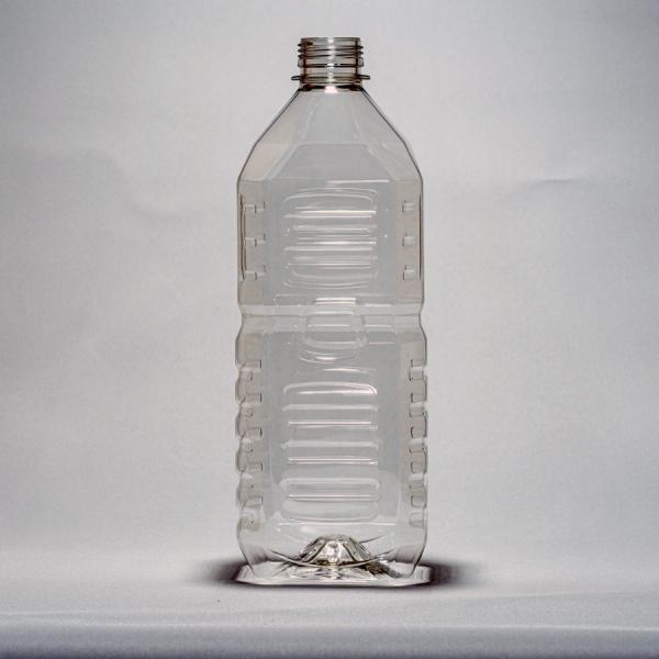 ペットボトル容器・角(2L×40本)38mmキャップ付き