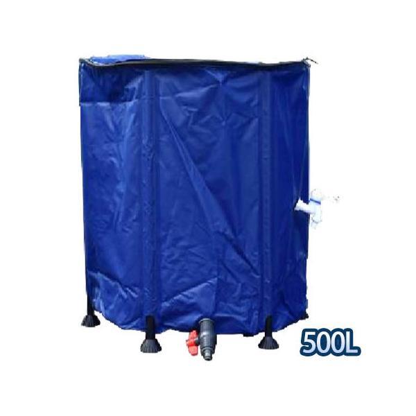 折りたたみ式水タンク 500L
