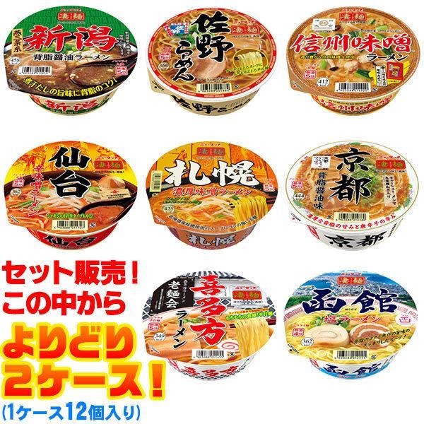 ニュータッチ凄麺ご当地シリーズよりどり2ケース(1ケース12個入り)