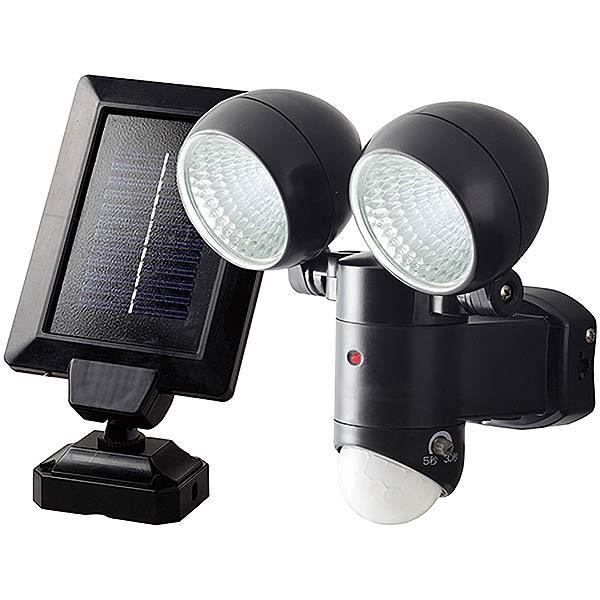 DAISHIN ソーラーセンサーライト1W×2灯式 DLS-2T300