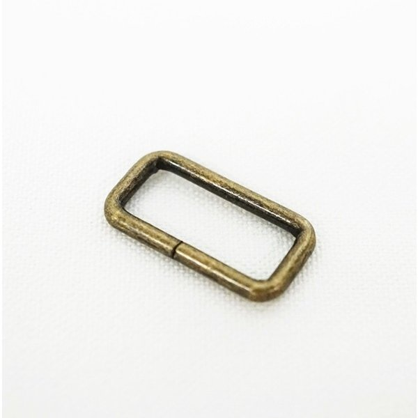 21×9×2.6mm 小カン アンティーク 10ヶセット kume637