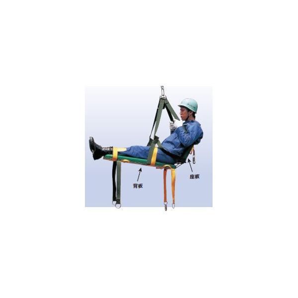 タイタン 救助引揚用器具 救助用昇降担架 ヘルパー8 (納期問合せ)