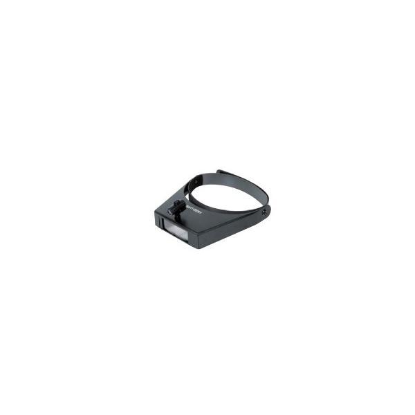 シンワ測定 双眼ヘッドルーペ W-3 1.5〜3.0倍 ライト付 75656