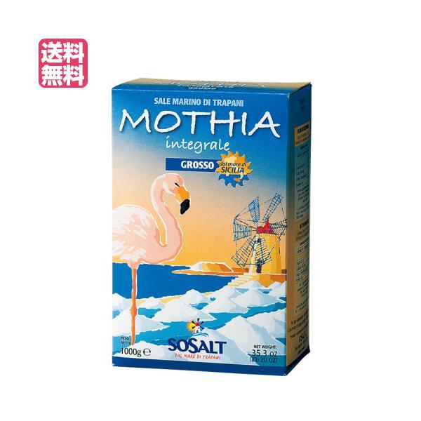 塩 天然 粗塩 モティア サーレ イングラーレ グロッソ 粗塩 1kg ソサルト(SOSALT)社 送料無料 送料無料