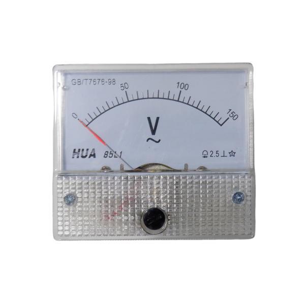 AC150V アナログ電圧計 パネルメーター