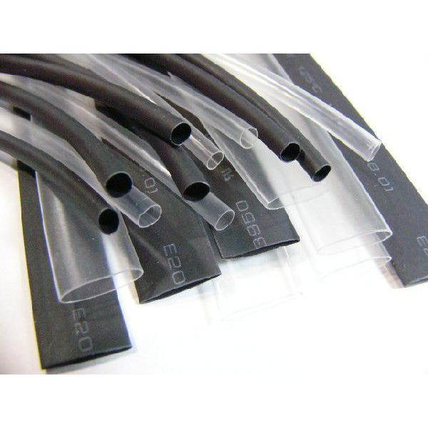 熱収縮チューブ φ2.0mm 黒