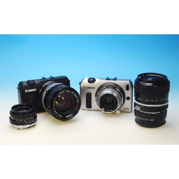 レイクォール マウントアダプター LM-EFM (レンズ)ライカM−(カメラ)キャノンM