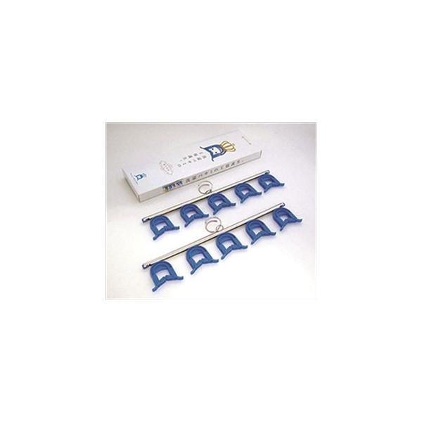 洗濯バサミ/ピンチハンガー 〔約125×406×11mm〕 ステンレス 防滑 『サッとハサミンガー』 〔ベランダ 庭 テラス〕