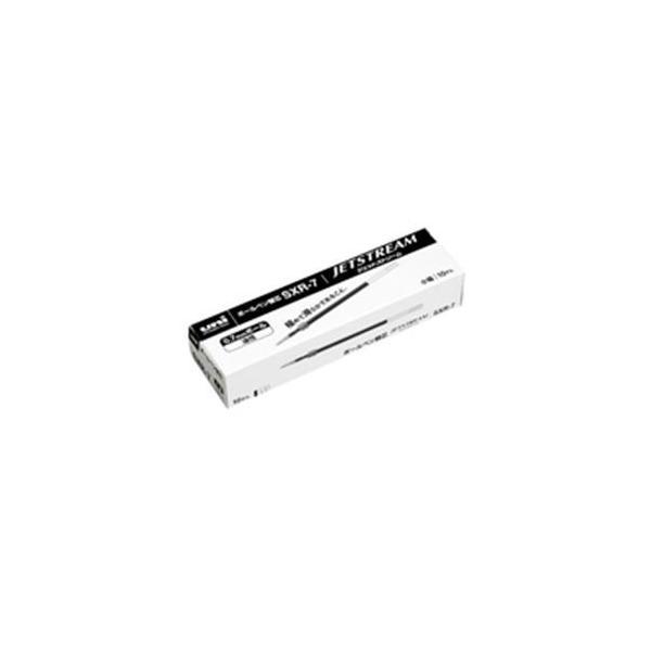 (業務用5セット) 三菱鉛筆 ボールペン替え芯/リフィル 〔0.7mm/黒 10本入り〕 油性インク SXR7.24