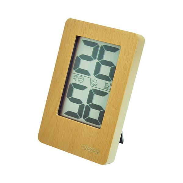 温度計 湿度計 デジタル温度計 デジタル湿度計 130×82mm (卓上/壁掛け)