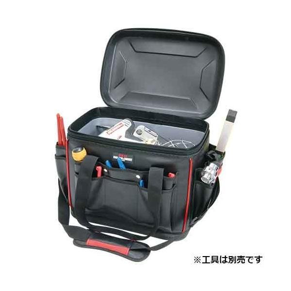 ツールバッグ 作業工具袋 資材 工事建築内装 幅380×高さ320×奥行270mm|kuraki-26