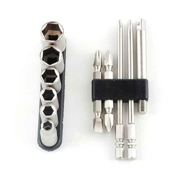電動ドライバー ドリル用(E-VALUE)ビット&ソケットセット bs-2n11pcs