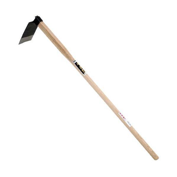 (農機具 くわ) 家庭 鍬 手造り (中) 90×1550mm (土づくり/農作業/畑)