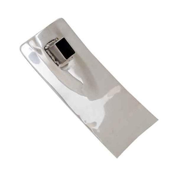 (農機具 くわ用 替鍬頭) ヘッド取替式 選べる ステンレス 団地鍬 (鋼付) ヘッド 295×50mm