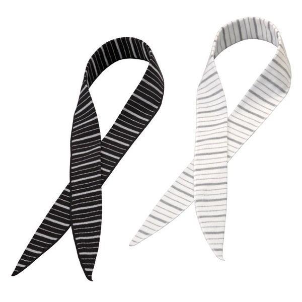ネッククーラー 冷感スカーフ COOL BORDER 2色組み 日本製 熱射病対策 日焼け防止 同梱区分直送TS1102|kuraking|04