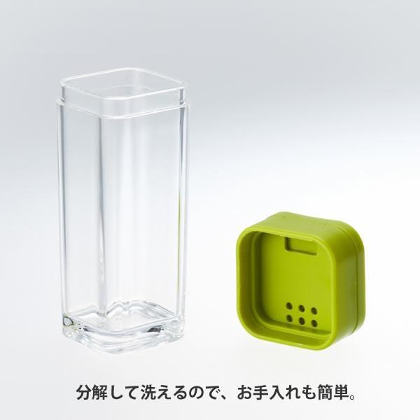 調味料入れ スパイスボトル AQUA アクア ホワイト 山崎実業|kurashi-arl|02